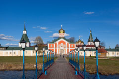 Valday Iversky Monastery Stock Images