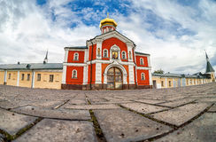 Valday Iversky Monastery, a Russian Orthodox monastery Stock Photos