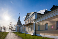 Valday Iversky Monastery at the spring Royalty Free Stock Image