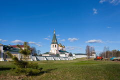 Valday Iversky Monastery at the spring Royalty Free Stock Photos