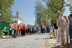 The annual sacred religious procession Royalty Free Stock Photography