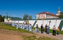 Le cortège religieux sacré annuel Photos libres de droits