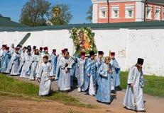 Le cortège religieux sacré annuel Images stock