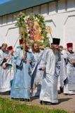 Le cortège religieux sacré annuel Photographie stock