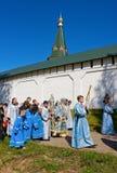 Le cortège religieux sacré annuel Photo stock