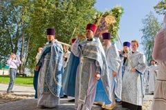 Le cortège religieux sacré annuel Photo libre de droits
