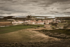 Valdeajos village Royalty Free Stock Image
