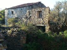 Valdecantos村庄在索里亚,西班牙 免版税库存图片