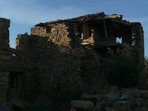 Valdecantos村庄在索里亚,西班牙 免版税图库摄影