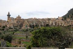 Valdemossa镇在马略卡 免版税库存照片