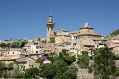 Valdemossa. Typical Spanish village on Mallorca royalty free stock image