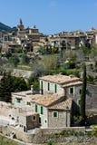 Valdemossa. View on small village Valdemossa, Mallorca stock photo