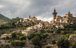 Valdemossa, Mallorca, Spain. The village of Valdemossa on the island Mallorca in Spain Europe Stock Photo