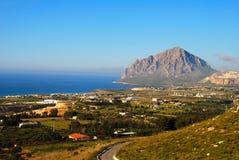 Valderice  - Trapani (Sicily) Royalty Free Stock Image