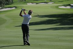 Valderrama-Golfplatz, Spanien Lizenzfreies Stockfoto