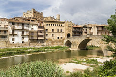 Valderrobres, Teruel royalty free stock photo