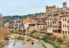 Valderrobres village, Spain royalty free stock photo