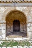Valderrodilla Church. San Miguel Arcangel Church in the Andaluz province of Soria, Spain Royalty Free Stock Photos