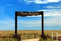 Valdes Peninsula - Argentina. Stock Image