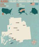 Valdez–Cordova Census Area in Alaska Stock Images
