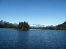 Valdez Bay in summer Stock Image