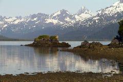 Valdez bay view Stock Images