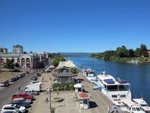 Valdivia, Cile Fotografie Stock