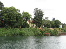 Valdivia rzeka zdjęcie stock