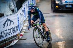 Valdobbiadene, Itália 23 de maio de 2015; Ciclista profissional durante uma fase da excursão de Itália 2015 Fotografia de Stock