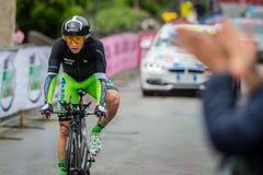Valdobbiadene, Itália 23 de maio de 2015; Ciclista profissional durante uma fase da excursão de Itália 2015 Imagem de Stock