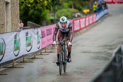 Valdobbiadene, Itália 23 de maio de 2015; Ciclista profissional durante uma fase da excursão de Itália 2015 Foto de Stock Royalty Free