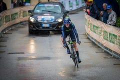 Valdobbiadene, Itália 23 de maio de 2015; Ciclista profissional durante uma fase da excursão de Itália 2015 Fotos de Stock