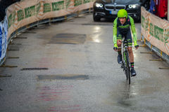 Valdobbiadene, Italy May 23, 2015; Professional cyclist during a stage of the Tour of Italy 2015 Stock Photo