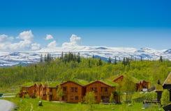 VALDRES,挪威- 2015年7月6日, :传统 库存照片
