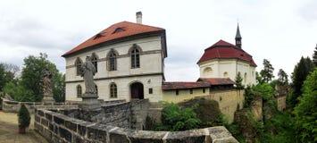 Valdstein castle in Czech Paradise in Czech republic Stock Photo