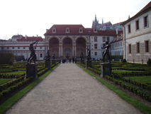 Valdstein trädgård Royaltyfria Foton