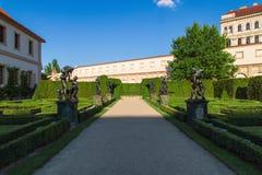 Valdstejnska-Garten Stockfotos