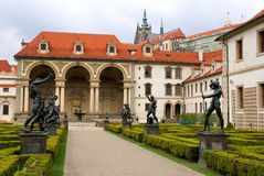 Valdstejnska Zahrada, Prague Photos libres de droits