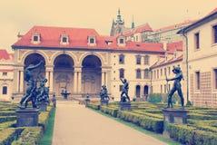 Valdstejnska Zahrada, Prague Stock Images