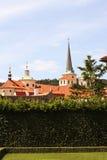 Valdstejnska Zahrada - sénat de République Tchèque images libres de droits