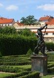Valdstejnska Zahrada - sénat de République Tchèque images stock