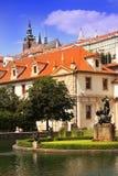 Valdstejnska Zahrada - sénat de République Tchèque photos libres de droits