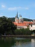 Valdstejnska Zahrada - sénat de République Tchèque photo libre de droits