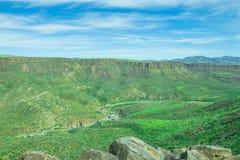 Vale bonito do monumento nacional de Fria da água Fotografia de Stock Royalty Free