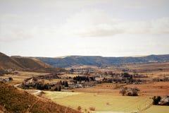 Vale cênico perto de Emmett, Idaho foto de stock royalty free