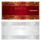 Vale/cupón/regalo ilustración del vector