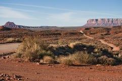 Vale da estrada da paisagem dos deuses Foto de Stock