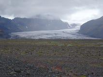 Vale da geleira Imagem de Stock