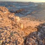 Vale da lua, Atacama, o Chile imagem de stock royalty free