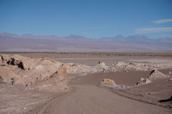 Vale da lua, Atacama, o Chile Fotografia de Stock